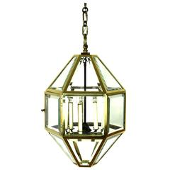 Very Large Vienna Secession Pendant Lamp by Josef Hoffmann