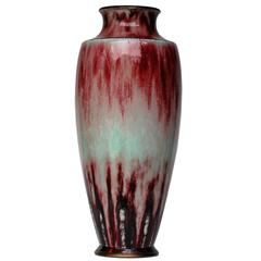 """Big sang de boef"" Sèvres Porcelain Vase"