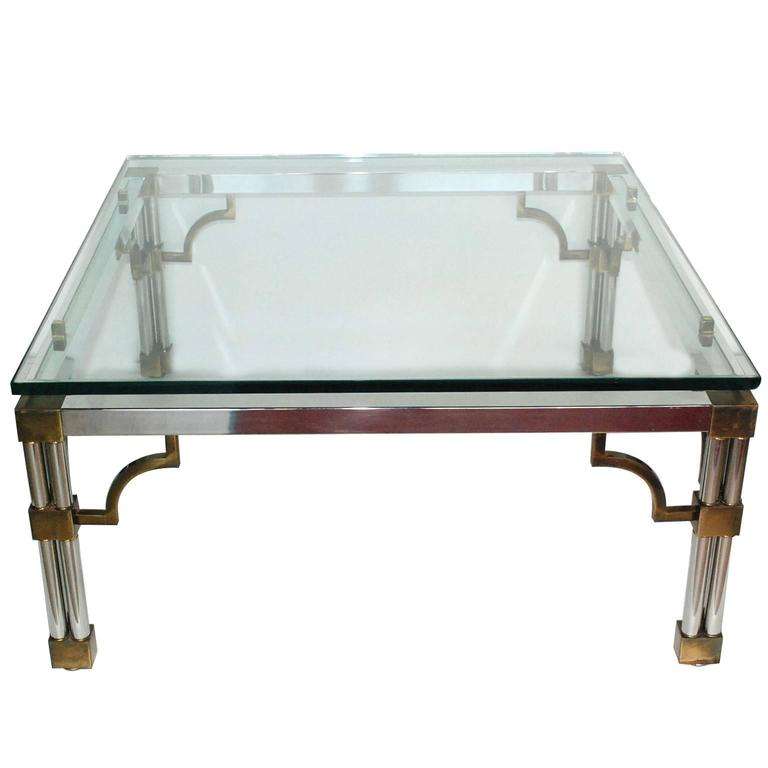French 1970s Coffee Table