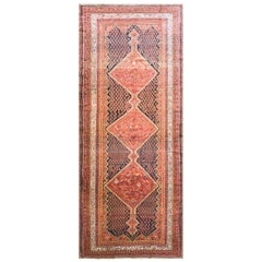Antique Persian Malayer Gallery/ Runner/ Rug