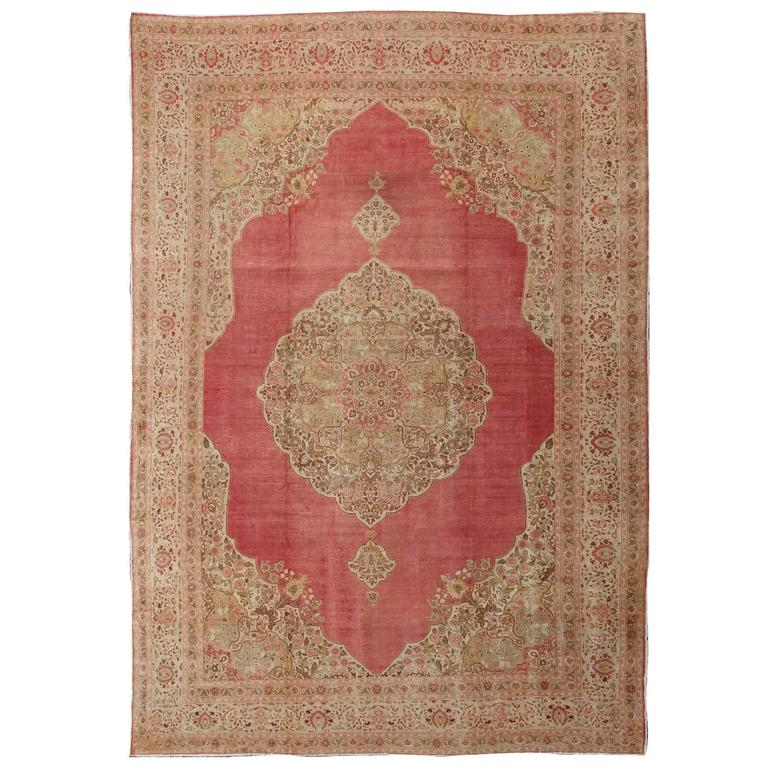 Antique Large Rug: Large Antique Turkish Sivas Rug For Sale At 1stdibs