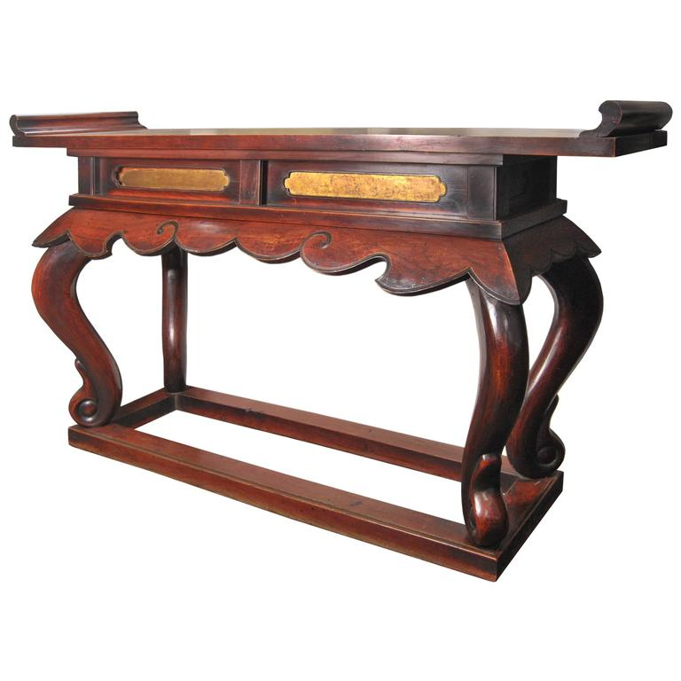 Home Altars For Sale: Antique Japanese Buddhist Altar Table, 19th Century For