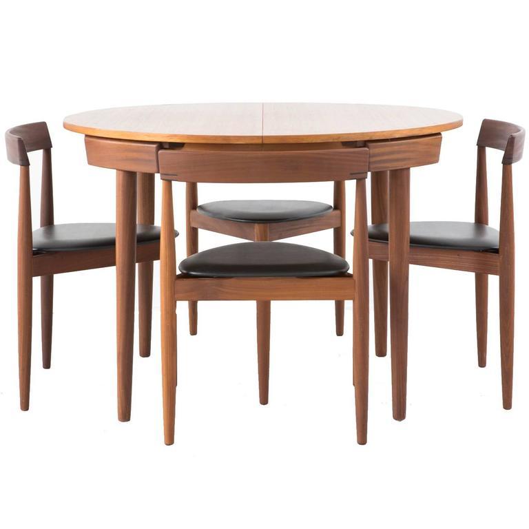 Mid Century Modern Danish Hans Olsen Dining Set 1