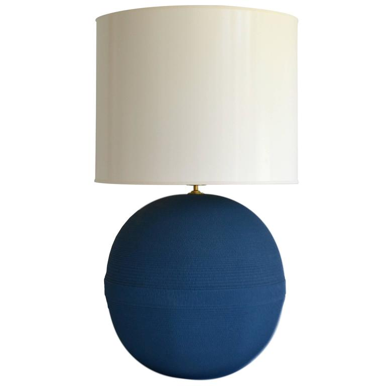 Post-Modern Ball Form Table Lamp