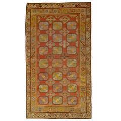 "Vintage Samarkand ""Khotan"" Rug"