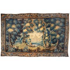 French 17th Century Louis XIV Verdure Tapestry, 'circa 1680'