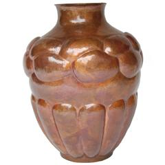 Mexico, Hand-Wrought Copper Vase II