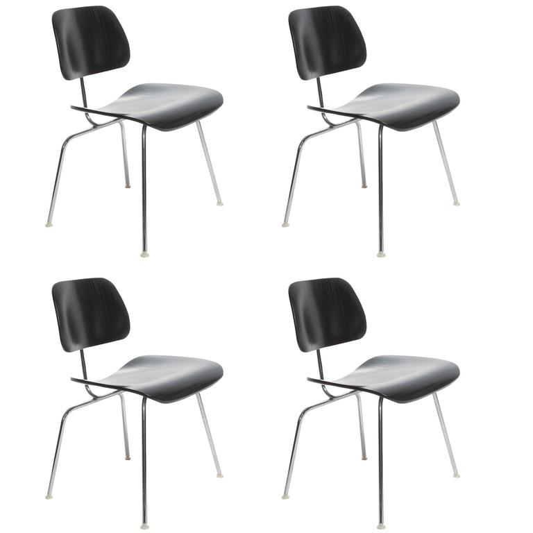 Eames Chair Wien charles eames dcm dining chair for sale at 1stdibs