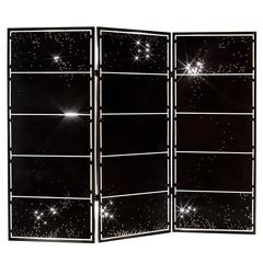 Unique Handmade Constellation Metal Folding Screen