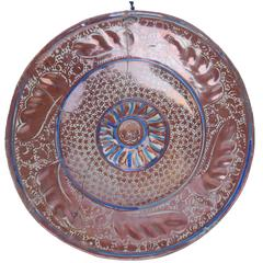 16th/17th Century Spanish Hispano Moresque Charger