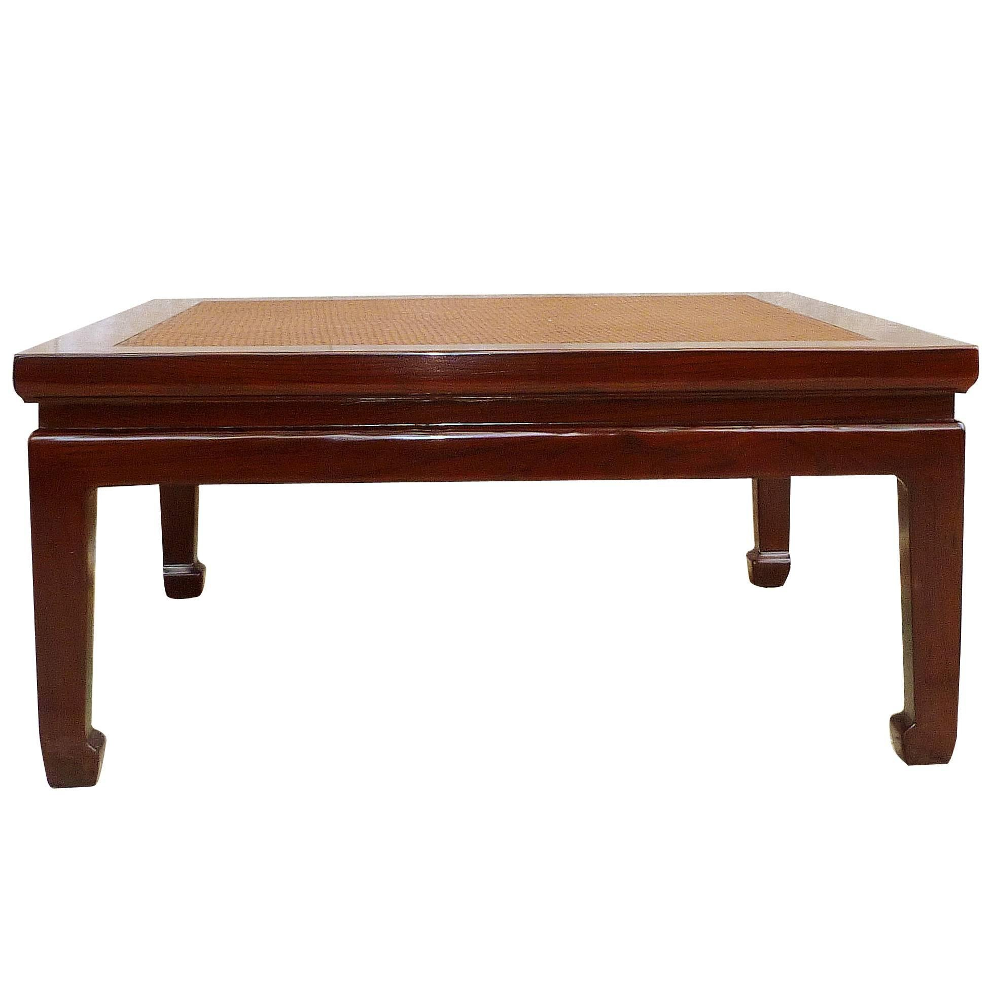 Fine Jumu Wood Low Table with Canned Top