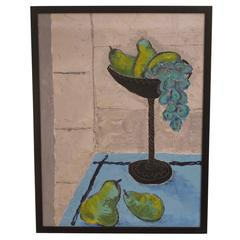 Still Life of Grapes and Pears