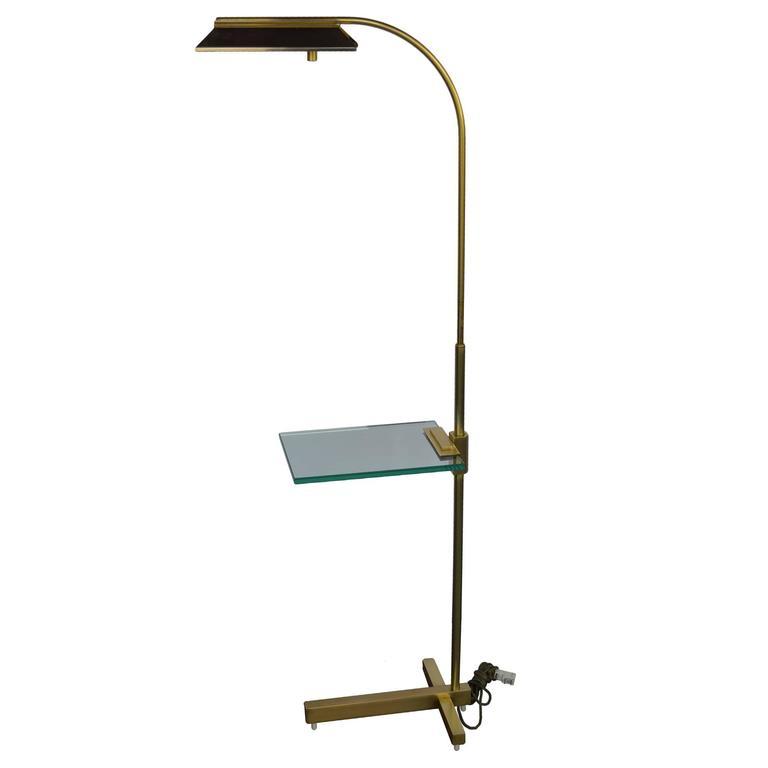 Brass Pharmacy Floor Lamp by Casella