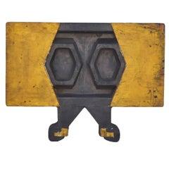 Wood Sculpture, Industrial Mold