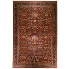 Persian Rugs, Antique Carpet from Sultanabad