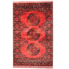 Afghan Rugs, Carpet from Turkemistan