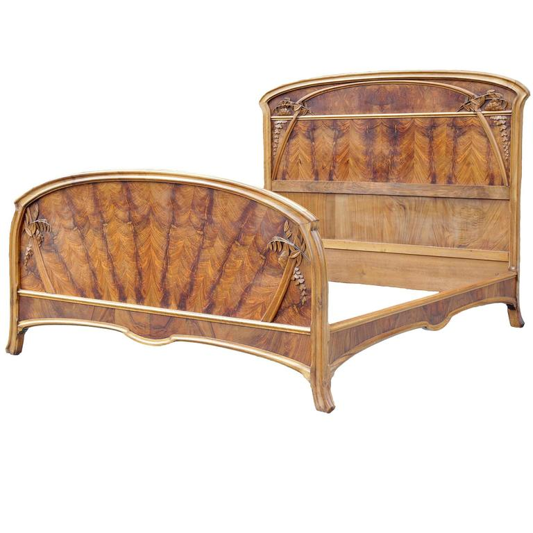 Art Nouveau Pearwood Bedroom Set At 1stdibs
