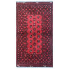 Fine New Afghan Rugs, Turkman Design Carpet