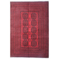 Oriental Rugs, Red Area Rug, Handmade Carpet living Room Rugs for Sale