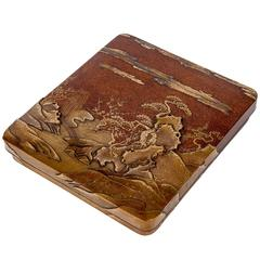 18th Century Edo Lacquered Suzuribako, Writting Box