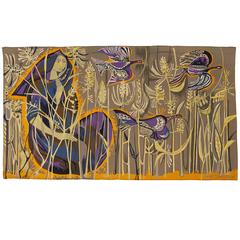 Exquisite Tapestry by Mary Dambiermont, Belgian