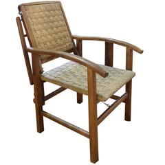 French Mid-Century Reclining Chair