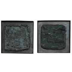 21st Century Bronze Over-Pour Sculptures by Elliot Bergman
