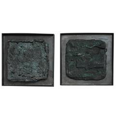 21st Century Bronze Over-Pour Sculptures by Elliot Bergman