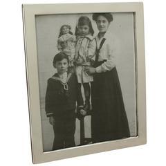 Sterling Silver Photograph Frame, Antique George V