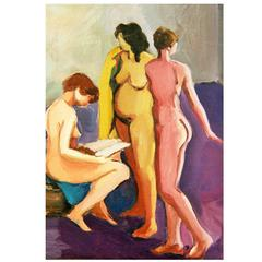 """Three Graces"" Painting"