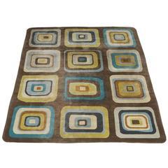 Angela Adams Geometric Custom Designed Wool Area Rug