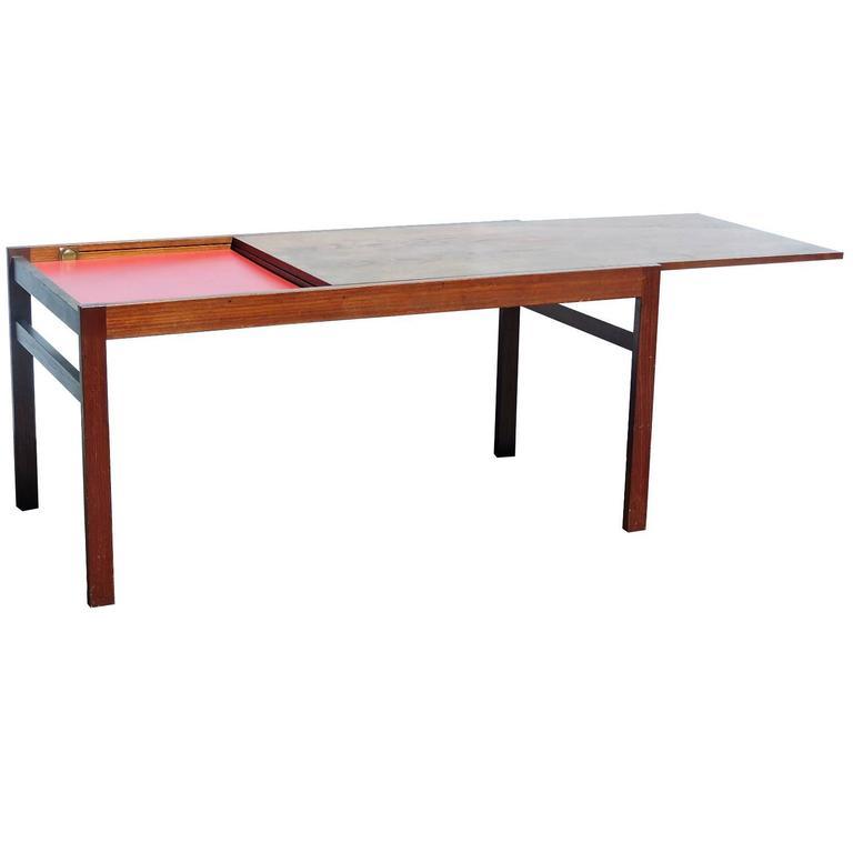 Danish Modern Expandable Top Coffee Table