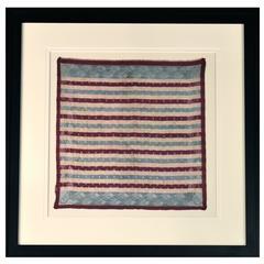 1889 Presidential Campaign Textile