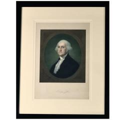 Chromolithograph of George Washington, Antique