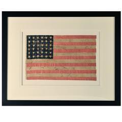 36 Star Flag, circa 1864