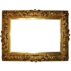 Large Baroque-Style Painting or Mirror Frame