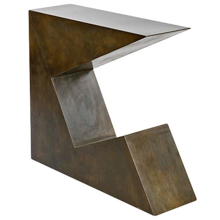 """""""John"""" Console Table by Stephane Ducatteau For Sale"""