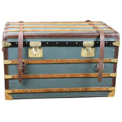 1904 Moynat Steamer Trunk