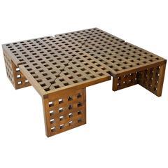 Italian Grid Coffee Table