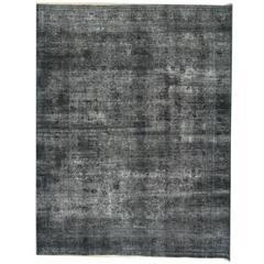 Vintage Persian Rugs, Grey Rug, Carpet from Iran