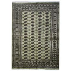 Large Rugs from Bukhara, Pakistani Wool Carpet