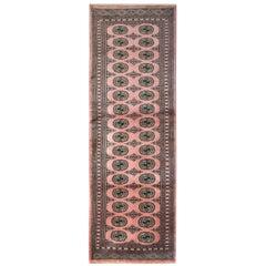 Turkman Bukhara Runner, Rust Stair Runner Hallway Carpet Rug