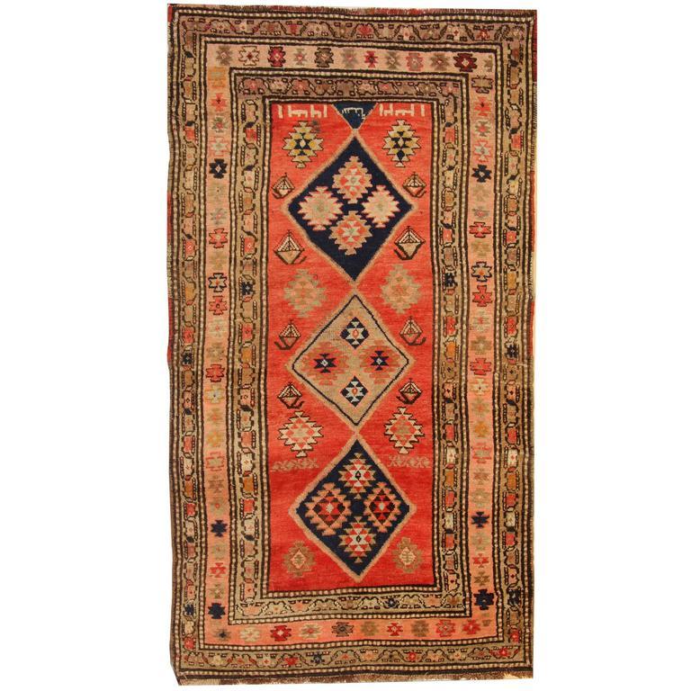 Antique Rugs Caucasian Carpet From North West Of Persia