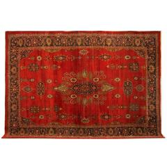 Antique Persian Carpet Ziegler Mahal from Sultanabad