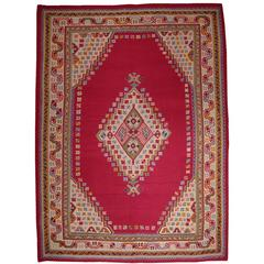 Fantastic Antique Oushak Kilim