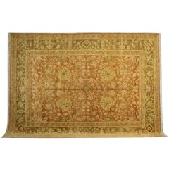 Old Indian Rugs, Antique Rugs, Persian Style Gold Rugs, Agra Carpet