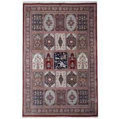 Magnificent Silk Persian Qum Rug