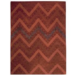 Antique Indian Agra Rug With Hollywood Regency Style For