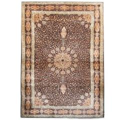 Magnificent Silk Rugs, Persian Style Rugs from India