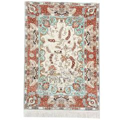 Magnificent Silk Rugs, Persian Rugs from Qum